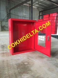 Vỏ Tủ Cứu Hỏa 600x500x180 Sơn Tĩnh Điện