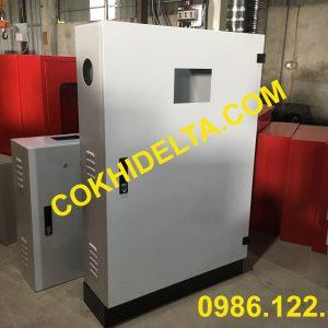 Vỏ Tủ Điện 1200x800x250 Mặt Cánh Có Đồng Hồ