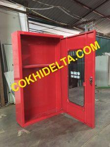 Báo Giá Vỏ Tủ Cứu Hỏa Trong Nhà 1000x600x180 Sơn Tĩnh Điện