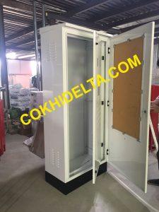 Cung Cấp Tủ Điện Ngoài Trời 1950x800x450 Với hai Lớp Cánh Tại Hà Nội