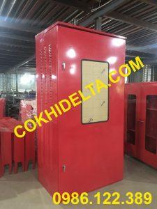Vỏ Tủ Điện Ngoài Trời 2400x1200x800 Màu Đỏ
